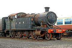 5227 GWR 5205 Class 2-8-0T (1924) (Roger Wasley) Tags: 5227 gwr 5205 class 280t great western railway didcot centre steam locomotive preservation heritage