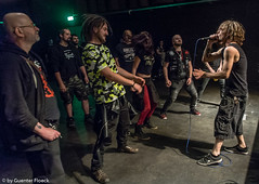 Messcorade (ExplosivGraz) Tags: juz explo explosiv graz april 2019 concert show live music kontrust pain is apis reek death staxcity messcorade helmut schmidt moderation