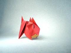 Kitten - KuanYi Lee (Rui.Roda) Tags: origami papiroflexia papierfalten chat gato cat kitten kuanyi lee