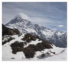 ABANDONED (P.N.F) Tags: machhapuchchhre mountain nepal fishtail travel annapurna himalayers