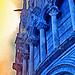 Detalle del Baptisterio de Pisa