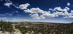 Colorado Plateau Big Sky Country (speedcenter2001) Tags: interstate i70 travel utah coloradoplateau desert nikon16mmf35ai ultrawide fisheye manualfocus d810 sky clouds dramatic