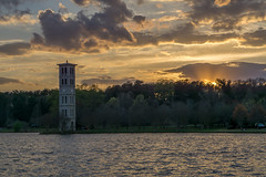 7:29 pm (agasfer) Tags: 2019 southcarolina greenville furman swanlake spring clouds sunset carillon tower sony a6000 cloudsstormssunsetssunrises sonye1850oss