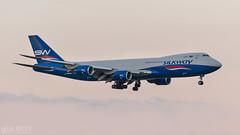 Silk Way   747 (lee adcock) Tags: 747 74783qf b744 dsa nikond500 runway20 silkwaywestairlines vqbvb airplane boeing nikon70200f28vri silkway