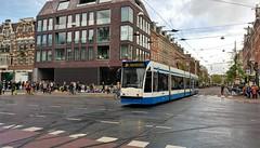 Koningsdagroutes 2019-9 (Peter ( phonepics only) Eijkman) Tags: amsterdam city combino gvb detour omleiding tram transport trams trolley tramtracks rail rails strassenbahn streetcars nederland netherlands nederlandse noordholland holland