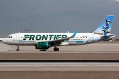 Frontier Airlines | Airbus A320-200N | N326FR | Las Vegas McCarran (Dennis HKG) Tags: aircraft airplane airport plane planespotting canon 7d 100400 lasvegas mccarran klas las frontier frontierairlines fft f9 airbus a320 airbusa320 a320neo airbusa320neo a20n sharklets n326fr