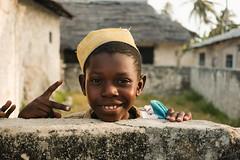 Peace...fully (.sl.) Tags: jambiani people portrait streetphotograghy tanzanie zanzibar muslim tanzania kid village africa peace color fujifilm pro colorportrait