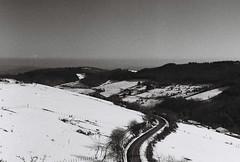 Mont-Blanc à gauche (leniners) Tags: 2019 france rhone saintmarcelléclairé saint marcel eclaire neige snow leica m6 leicam6 bw nb noir black white ilford hp5 plus ilfordhp5plus