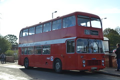 PMT 604 OEH604M (Will Swain) Tags: gladstone pottery museum during pmt running day 21st october 2018 bus buses transport travel uk britain vehicle vehicles county country england english preserved heritage 604 oeh604m stone
