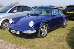 Porsche 911 Carrera 4 K90MRP (Andrew 2.8i) Tags: haynes museum sparkford classic car cars classics breakfast meet show german sports sportscar 4wd 4x4 coupe 964 aircooled cooled air 4 four carrera 911 porsche