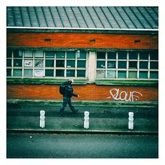 En route pour la gare (Marie Hacene) Tags: lille gare architecture route rue street