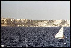Alghero 1991 (Alberto Cameroni) Tags: cyberviewxv51425 alghero barcaavela costa mare torredisulis nikon agfa diapositiva analogica pellicola scanner primefilm
