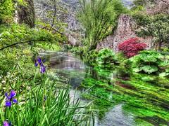 Paesaggio 4 a Ninfa (Wronny) Tags: italia italy giardino giardini ninfa di garden parco park lazio latina cisterna sermoneta