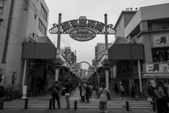 Shinsekai(新世界) (Hideki-I) Tags: blackandwhite bw monochrome 白黒 黑白 osaka japan shinsekai z7 nikon 2470 大阪 日本 新世界 street