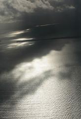 Aerial Light Play (peterkelly) Tags: digital canon 6d northamerica gadventures mayandiscovery belize cayecaulker plane airplane aerialphotography aerialphotos water caribbeansea shadow sunlight sunlit sun light