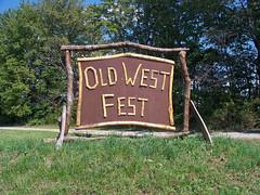 OH Williamsburg - Old West Festival (scottamus) Tags: williamsburg ohio clermontcounty fair festival event oldwestfestival sign