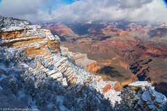 A Brilliant Winter Day ion the South Rim of the Grand Canyon (LNY_Photography) Tags: arizona clouds grandcanyon grandcanyonnationalpark grandcanyonsouthrim matherpoint sandstone trees usa blue canyon eroded landscape photography rocks scenicnature shape snowwinter unitedstatesofamerica
