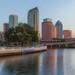 Bayshore Boulevard Ending in Downtown Tampa