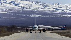 Rossiya - Boeing 777-31H(ER) EI-GES (Zhuravlev Nikita) Tags: boeing 777 boeing777 aeroflot rossiya elizovo kamchatka spotting uhpp pkc