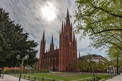 Marktkirche in Wiesbaden 0220 (Peter Goll thx for +12.000.000 views) Tags: wiesbaden deutschland nikon neugotisch church evangelisch germany hessen nikkor 2019 marktkirche uraub rheingau