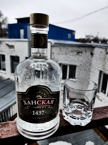 Vodka Hanskaya ©  Sergei F