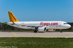 Pegasus Airlines TC-NBN (U. Heinze) Tags: aircraft airlines airways airplane planespotting plane haj hannoverlangenhagenairporthaj eddv nikon d610 nikon28300mm flugzeug