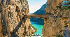 El Caminito del Rey, Man Made Miracle in Spain (fabholidays) Tags:
