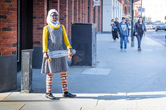 My Streets (DobingDesign) Tags: streetphotography streetcandid skateboarder skateboard islamicdress youngperson girl younglady muslim london londonstreets citylife hijab athlete sporty portrait