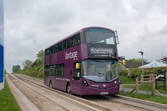 First BL65OXT (Mike McNiven) Tags: first manchester bolton depot vantage guideway guidedbusway guided busway leigh atherton ellenbrook centralmanchester hospitals mri wright eclipse gemini3 volvo dieselelectric ecohyrbid hybrid