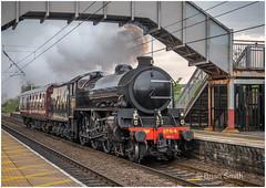 Class B1 61264 on Service 5Z26 at Chester-le-Street, 01/05/2019 (Greg's Old Feller) Tags: transport steam locomotive rail railway thompson lner nymr