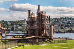 Gas Works Park, Seattle, WA, USA