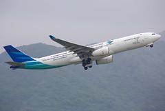 Garuda Indonesia | Airbus | A330-343 | PK-GPY (TFG Lau) Tags: vhhh hkia hkg hongkong hongkonginternationalairport haeco canon canoneos eos eos5dmarkiii ahkgap garuda garudaindonesia gia ga airbus a330 a333 pkgpy skyteamalliance skyteam