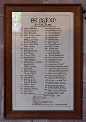 157-20180714_Bridstow Church-Herefordshire-List of Vicars from 1277 (Nick Kaye) Tags: bridstow herefordshire england church