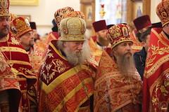 023. Божественная литургия в Успенском соборе 01.05.2019