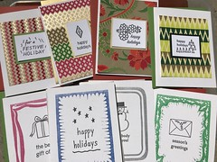 Holiday 2019 wholesale additions (artnoose) Tags: wholesale berkeley trees stars winter green red holidays happy holiday christmas card cards greeting handmade letterpress