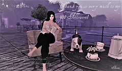 Thank You for 300 Followers (AzumiChan) Tags: secondlife second secondlifephotos secondlifephotography sims sims3 seductive sensual sexy sex ass mesh pastel blogger belleza blackandwhite blog photo photograph photography photographs picture pictures people prtty blueberry laq fun dog animation avatar hair dock tea relax comfort