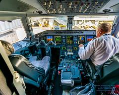 ERJ-175LR Cockpit At Ze SFO Gate (AvgeekJoe) Tags: d5300 dslr e75l erj170200lr erj175 erj175lr embraer embraererj170200lr embraererj175 embraererj175lr n624qx nikon nikon1020mm nikon1020mmafpdxf4556gvr nikond5300 nikonnikkor1020mmafpdxf4556gvr aircraft airplane aviation jetliner plane
