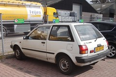 Toyota Starlet P7 1.3 XL aut 15-9-1987 SK-38-TP (Fuego 81) Tags: toyota starlet p7 1987 onk sidecode4 feijen sk38tp