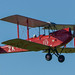 DH 60G fly-by