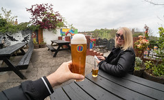 Just a day around and about Durham. . . (CWhatPhotos) Tags: cwhatphotos photographs photograph pics pictures pic picture image images foto fotos photography that have which with contain durham city day out about around may 1st 2019 angel inn pub bar drink beer lager colors artwork theangelinn