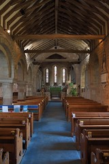 169-20180714_Weston under Penyard Church-Herefordshire-view down Nave from W end to Chancel Arch and Chancel at E end of Church-N Aisle on L (Nick Kaye) Tags: westonunderpenyard herefordshire england church