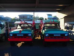 NISSAN (murozo) Tags: fire truck engine car nissan oiso kanagawa japan 消防車 車 日産 大磯 神奈川 日本 港