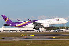 Thai Airways Airbus A350-900 HS-THE | Milano - Malpensa (MXP-LIMC) | 1st May 2019 (Brando Magnani) Tags: aviation aircraft airplane landing extrawidebody airbusa350 airbus malpensa thaiairways