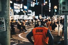 _MG_5278 (waychen_c) Tags: taiwan tw taipei taipeicity zhongshandistrict zhongshan nanxi night nightscape cityscape urban road people thebigissue portrait 台灣 台北 台北市 中山 中山區 南西 大誌雜誌 南京西路