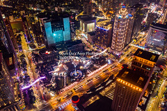 新北歡樂耶誔城 (Louis Liu) Tags: louis的影像世界 louis的空拍世界 劉大川 空拍圖庫 圖庫 2000萬畫素 台灣 taiwan 建築 dji mavic mavic2pro drone aerography 板橋 新板特區 新北歡樂耶誔城