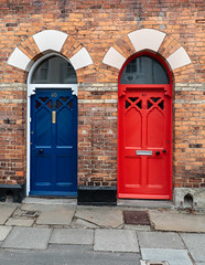 Doors. (CWhatPhotos) Tags: cwhatphotos photographs photograph pics pictures pic picture image images foto fotos photography that have which with contain durham city day out about around may 1st 2019 door doors doorway colored coloured color colour colours street old painted paint numbered numbers number