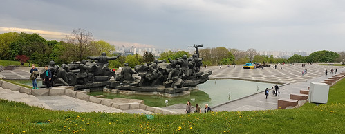 Monument to the liberators of Kiev in the Second World War