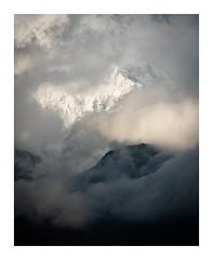 Annapurna South (SiKenyonImages) Tags: annapurnasouth mountain nepal tadapani moody light clouds atmosphere depth annapurna trekking