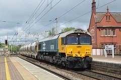 "GB Railfreight Class 66/7's, 66789 ""British Rail 1948 - 1997"" (37190 ""Dalzell"") Tags: br largelogoblue gbrf gbrailfreight hectorgroup gm generalmotors shed bluebird class66 class667 66789 britishrail19481997 66250 northwestern wigan"