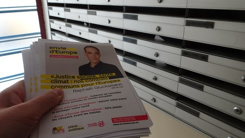 Distribution tract Envie d'Europe -  2 mai 2019